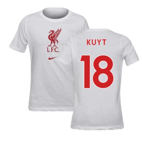 2020-2021 Liverpool Evergreen Crest Tee (White) - Kids (KUYT 18)