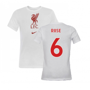 2020-2021 Liverpool Evergreen Crest Tee (White) (RIISE 6)