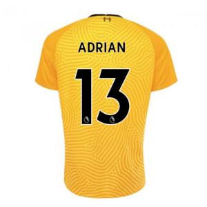 2020-2021 Liverpool Goalkeeper Shirt (Yellow)