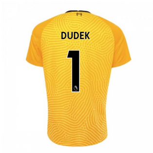 2020-2021 Liverpool Goalkeeper Shirt (Yellow) (DUDEK 1)