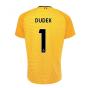 2020-2021 Liverpool Goalkeeper Shirt (Yellow) (DUDEK 1)