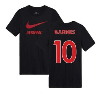 2020-2021 Liverpool Ground Tee (Black) - Kids (BARNES 10)