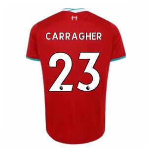 2020-2021 Liverpool Home Shirt (CARRAGHER 23)