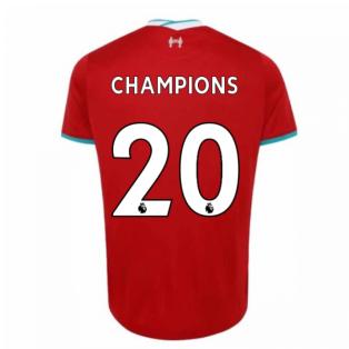 2020-2021 Liverpool Home Shirt (CHAMPIONS 20)