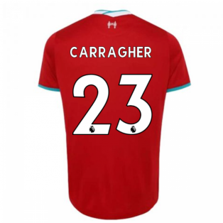 2020-2021 Liverpool Home Shirt (Kids) (CARRAGHER 23)