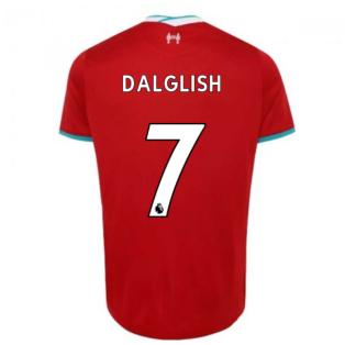 2020-2021 Liverpool Home Shirt (Kids) (DALGLISH 7)