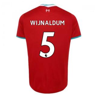2020-2021 Liverpool Home Shirt (Kids) (WIJNALDUM 5)