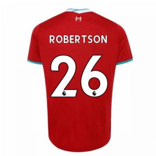 2020-2021 Liverpool Home Shirt (ROBERTSON 26)