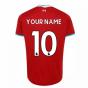 2020-2021 Liverpool Home Shirt (Your Name)