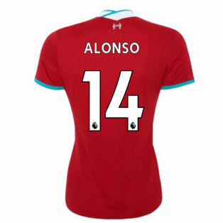 2020-2021 Liverpool Ladies Home Shirt (ALONSO 14)