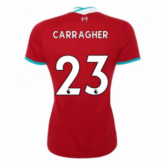 2020-2021 Liverpool Ladies Home Shirt (CARRAGHER 23)