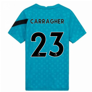 2020-2021 Liverpool Pre-Match Training Shirt (Energy) (CARRAGHER 23)