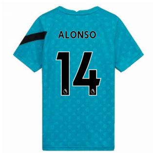 2020-2021 Liverpool Pre-Match Training Shirt (Energy) - Kids (ALONSO 14)