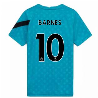 2020-2021 Liverpool Pre-Match Training Shirt (Energy) - Kids (BARNES 10)