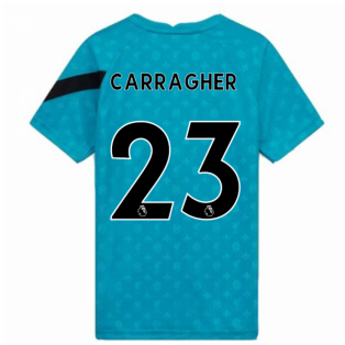 2020-2021 Liverpool Pre-Match Training Shirt (Energy) - Kids (CARRAGHER 23)