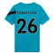 2020-2021 Liverpool Pre-Match Training Shirt (Energy) - Kids (ROBERTSON 26)