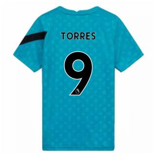 2020-2021 Liverpool Pre-Match Training Shirt (Energy) - Kids (TORRES 9)