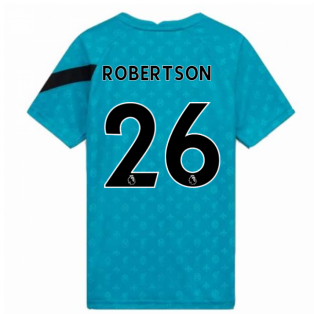 2020-2021 Liverpool Pre-Match Training Shirt (Energy) (ROBERTSON 26)