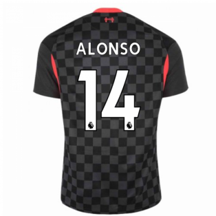 2020-2021 Liverpool Third Shirt (ALONSO 14)