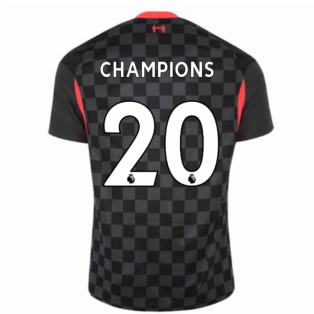 2020-2021 Liverpool Third Shirt (CHAMPIONS 20)