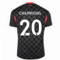 2020-2021 Liverpool Third Shirt (CHAMPIONS 20)