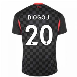 2020-2021 Liverpool Third Shirt (DIOGO J 20)
