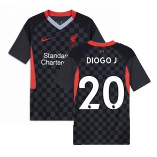 2020-2021 Liverpool Third Shirt (Kids) (DIOGO J 20)