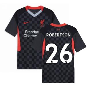 2020-2021 Liverpool Third Shirt (Kids) (ROBERTSON 26)