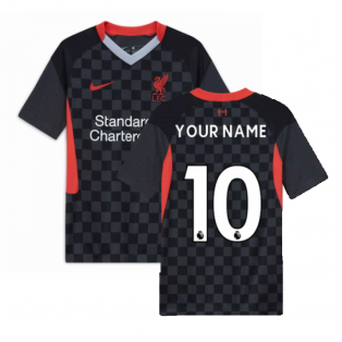 2020-2021 Liverpool Third Shirt (Kids) (Your Name)