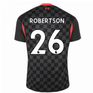 2020-2021 Liverpool Third Shirt (ROBERTSON 26)