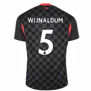 2020-2021 Liverpool Third Shirt (WIJNALDUM 5)