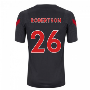 2020-2021 Liverpool Training Shirt (Anthracite) (ROBERTSON 26)