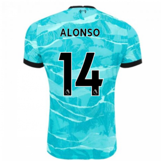 2020-2021 Liverpool Vapor Away Shirt (ALONSO 14)