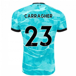 2020-2021 Liverpool Vapor Away Shirt (CARRAGHER 23)