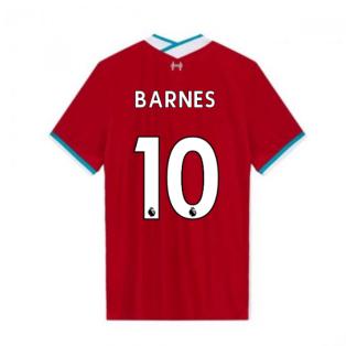 2020-2021 Liverpool Vapor Home Shirt (BARNES 10)