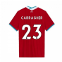 2020-2021 Liverpool Vapor Home Shirt (CARRAGHER 23)