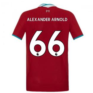 2020-2021 Liverpool Vapor Home Shirt (Kids) (ALEXANDER ARNOLD 66)