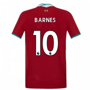 2020-2021 Liverpool Vapor Home Shirt (Kids) (BARNES 10)