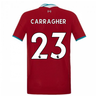 2020-2021 Liverpool Vapor Home Shirt (Kids) (CARRAGHER 23)