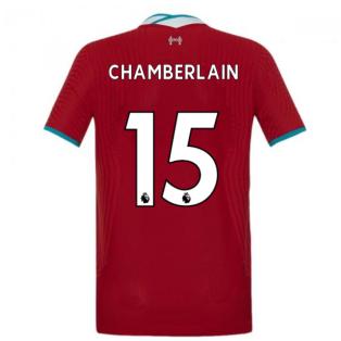 2020-2021 Liverpool Vapor Home Shirt (Kids) (CHAMBERLAIN 15)