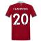 2020-2021 Liverpool Vapor Home Shirt (Kids) (CHAMPIONS 20)