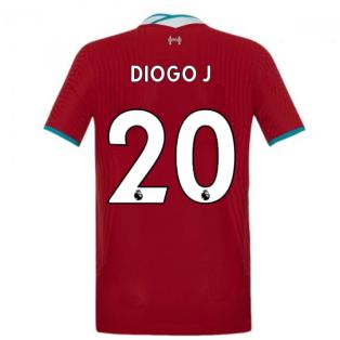 2020-2021 Liverpool Vapor Home Shirt (Kids) (DIOGO J 20)