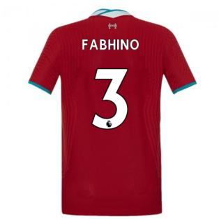 2020-2021 Liverpool Vapor Home Shirt (Kids) (FABHINO 3)