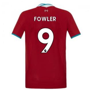 2020-2021 Liverpool Vapor Home Shirt (Kids) (FOWLER 9)