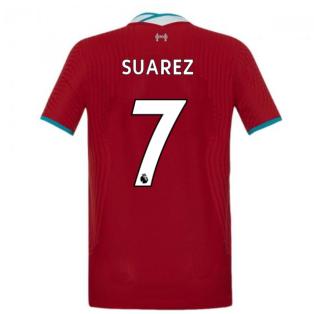 2020-2021 Liverpool Vapor Home Shirt (Kids) (SUAREZ 7)