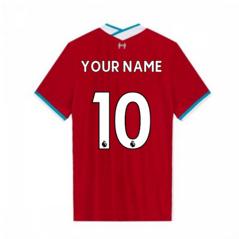 2020-2021 Liverpool Vapor Home Shirt (Your Name)