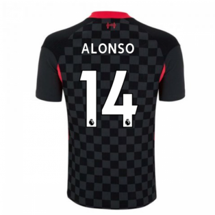 2020-2021 Liverpool Vapor Third Shirt (ALONSO 14)