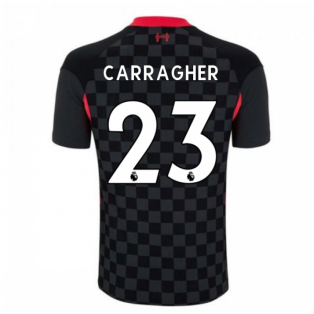 2020-2021 Liverpool Vapor Third Shirt (CARRAGHER 23)