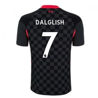 2020-2021 Liverpool Vapor Third Shirt (DALGLISH 7)