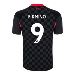 2020-2021 Liverpool Vapor Third Shirt (FIRMINO 9)